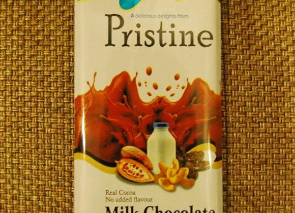 Milk couverture chocolates