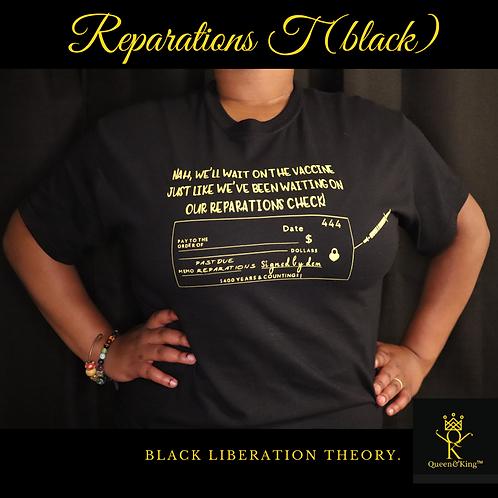 Reparations T (black)
