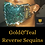 Thumbnail: Gold&Teal Reverse Sequins Face Mask