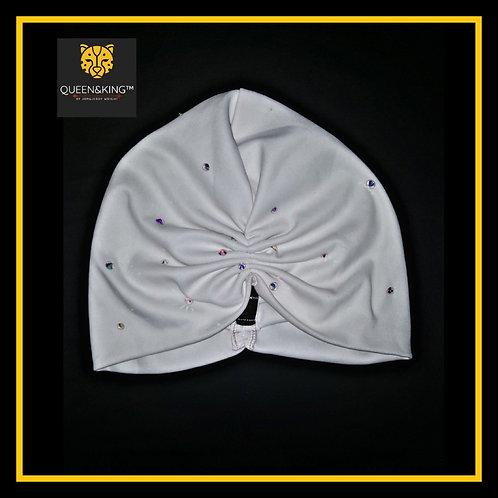 Ivory (R2W) Turban||Embellished