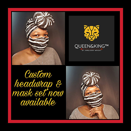 Orca Mask & Headwrap Set