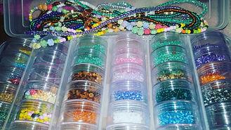 Waist bead kit prep