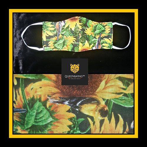 Sun Flower Face Mask