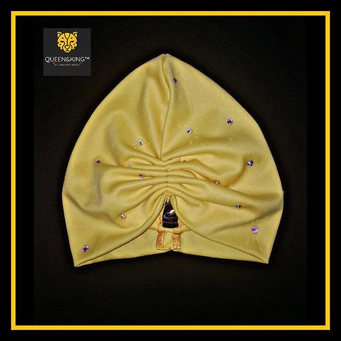 Yellow (R2W) Turban||Embellished