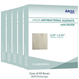 ANTIBACTERIAL ALGINATE (CASE) Price is for 1 Case (600 Dressings / 60 Boxes).