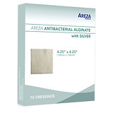 ANTIBACTERIAL ALGINATE WITH SILVER 4.25″ X 4.25″ (10 PCS)