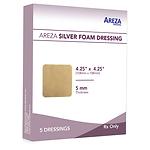 Silver Foam Dressing 4.25″ X 4.25″ (5 PCS)