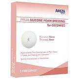 AREZA SILICONE FOAM DRESSING FOR OSTOMIES (5 PCS)
