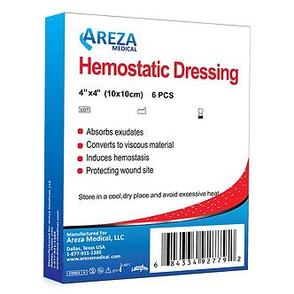 hemostatic dressing wound care