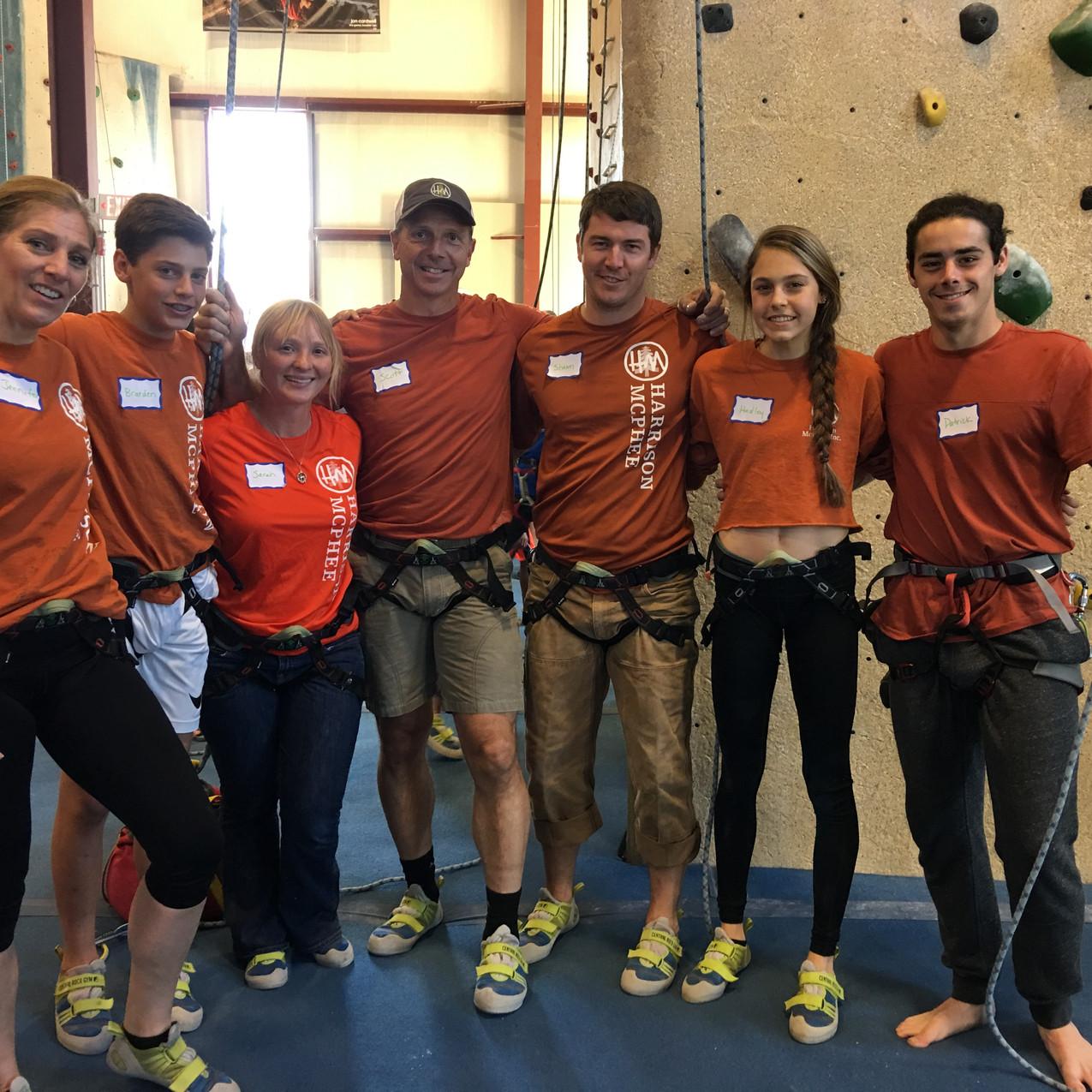 HMI Team Climbs for Waypoint