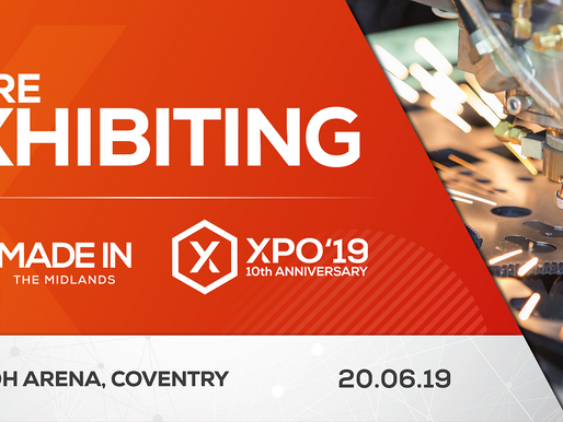 Sherwood Sign Up For the Made In The Midlands Xpo 2019!
