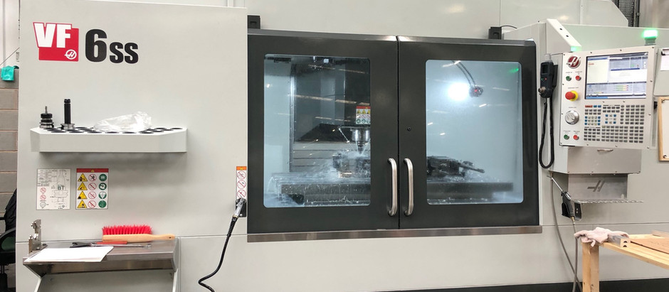 New HAAS Machining Centre