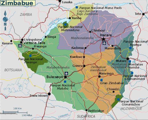 زيمبابوي تقايض الوقود من روسيا بالألماس