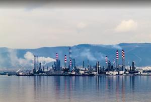 مصفاة نفط وغاز طبيعي في تركيا