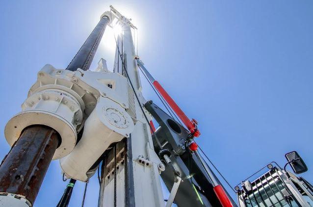 أجزاء منصة حفر  الآبار النفطية