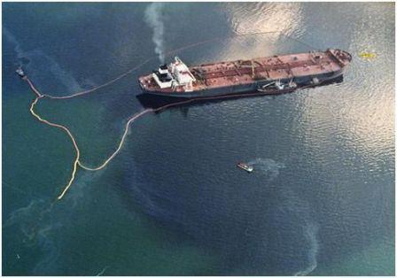 """التسرب النفطي """"إيه بي تي سمر"""""""