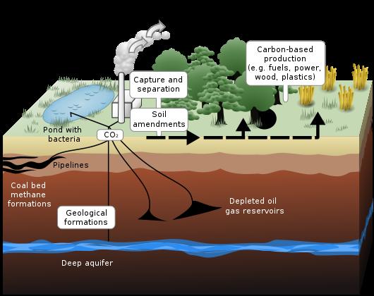 تخزين ثاني أوكسيد الكربون