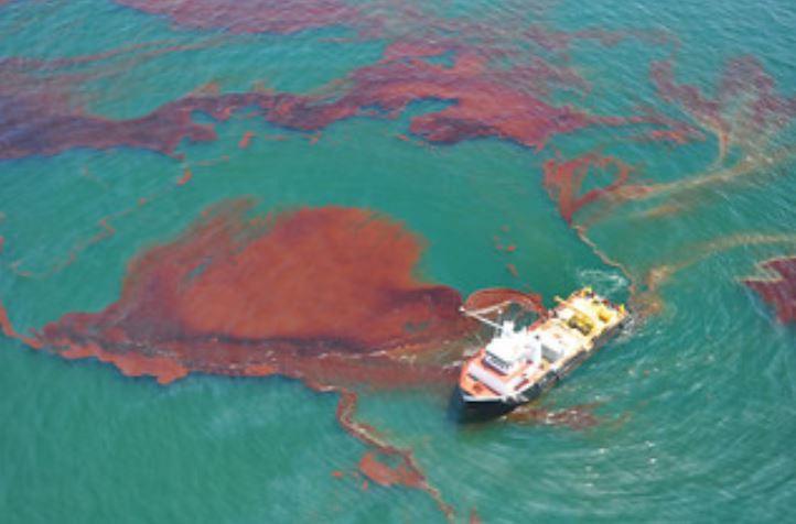 تسرب نفطي في خليج المكسيك