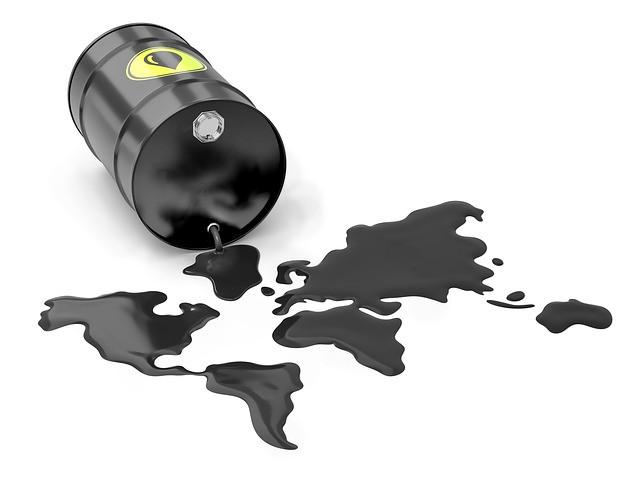 نسب توزع المخزون والإنتاج النفطي في مناطق العالم