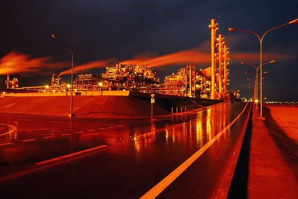 مصفاة ميناء الأحمدي في الكويت