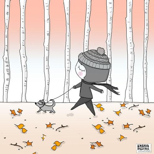 """Welcome Fall..."" Print"