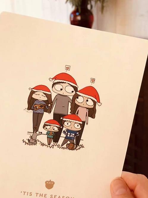 Christmas Card Digital Illustration