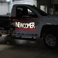 Newcomer Plow & Hitch Reflective Wrap