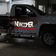 Newcomer Plow & Hitch Reflective Wrap