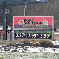 Port Sheldon Party Store Sign