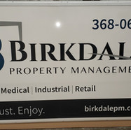 Birkdale Sign