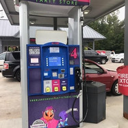 Port Sheldon Party Store Gas Pumps