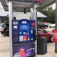 Port Sheldon Party Store Gas Pumps