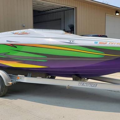Baja Outlaw Exterior Boat Wrap
