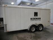 Koeman Trailer Lettering