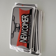 Newcomer Plow Decals