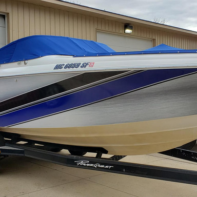 Powerquest Boat wrap