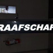 Graafschap Fire Reflective Sign