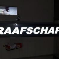 Graafschap Fire Reflective Sign
