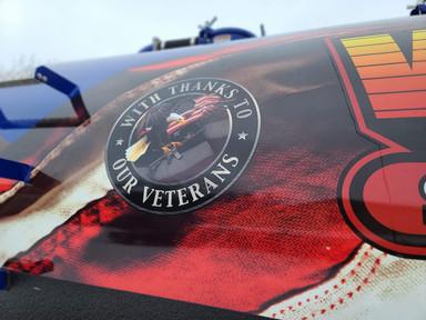 Veteran's Badge Wrap