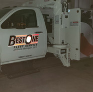 Best One Service Truck Reflective Wrap