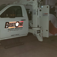 Best One Service Truck Reflective Wrap