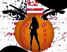 Rebel Peach logo artwork
