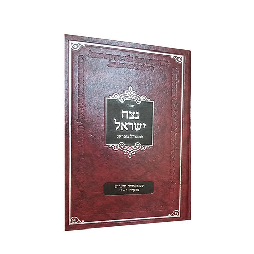 פירוש למהרל נצח ישראל הרב אבי טילמן