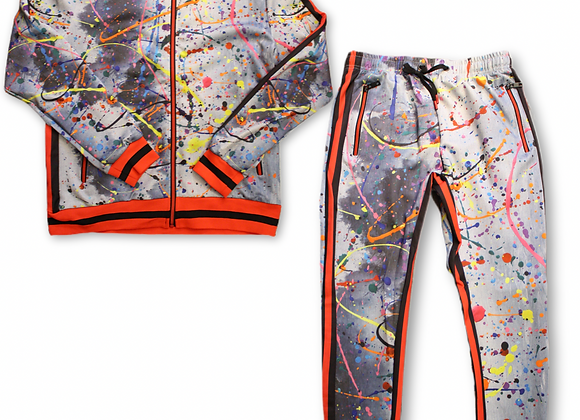 Tracksuit - fire red