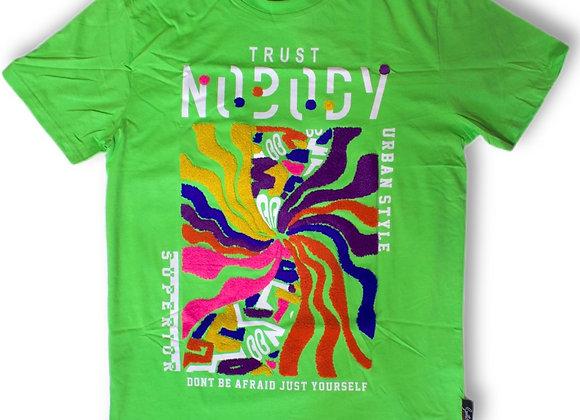 Trust nobody graphic tee