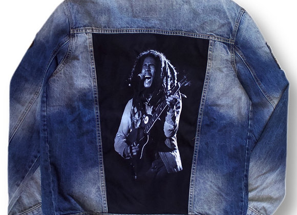 Demon jacket Bob Marley