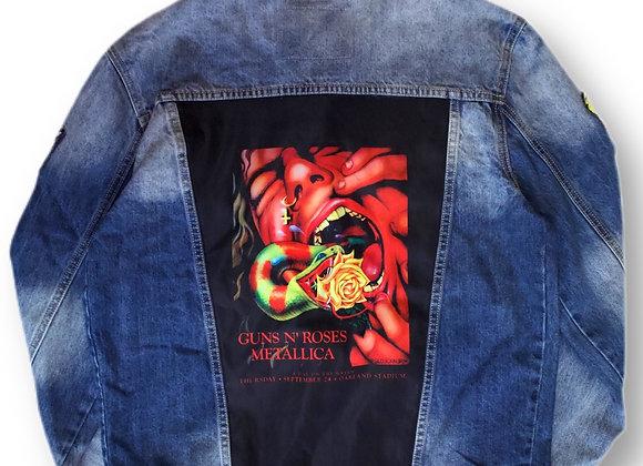 Denim jacket Guns n Roses Metallica