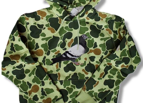 Camo pigeon hoodie