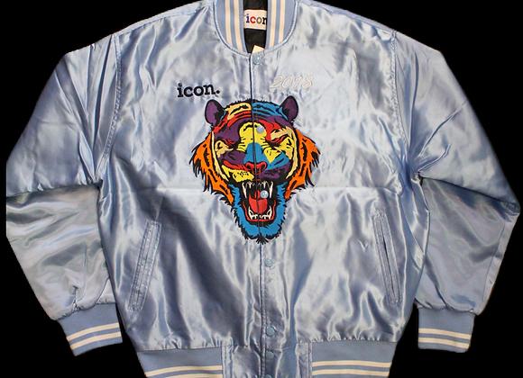 Icon bomber jacket - light blue