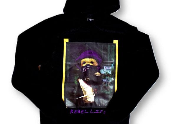 Rebel life hoodie